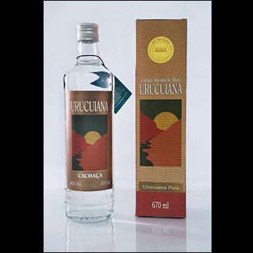 Cachaça Urucuiana Pura 670 ml Original - Garrafa