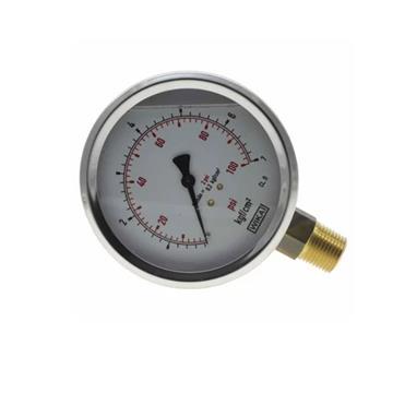 Manômetro p/ Gás 0-100 PSI