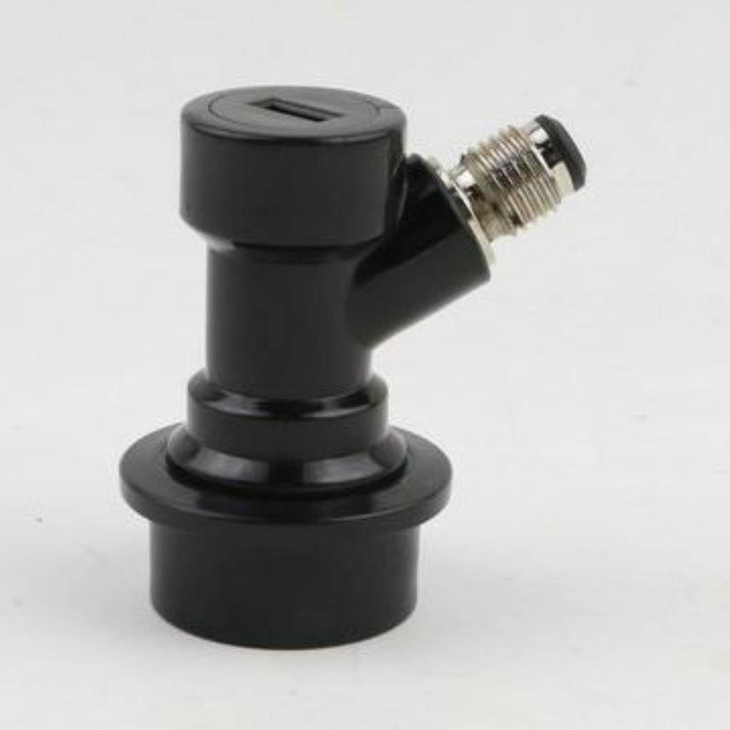 """Conector Ball-Lock para liquido,  rosca 7/16"""""""