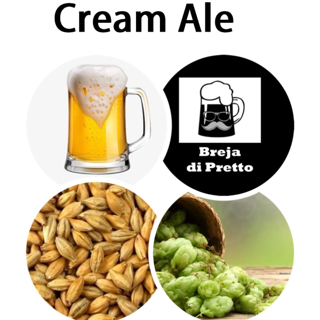 Receita Cream Ale 40 Litros