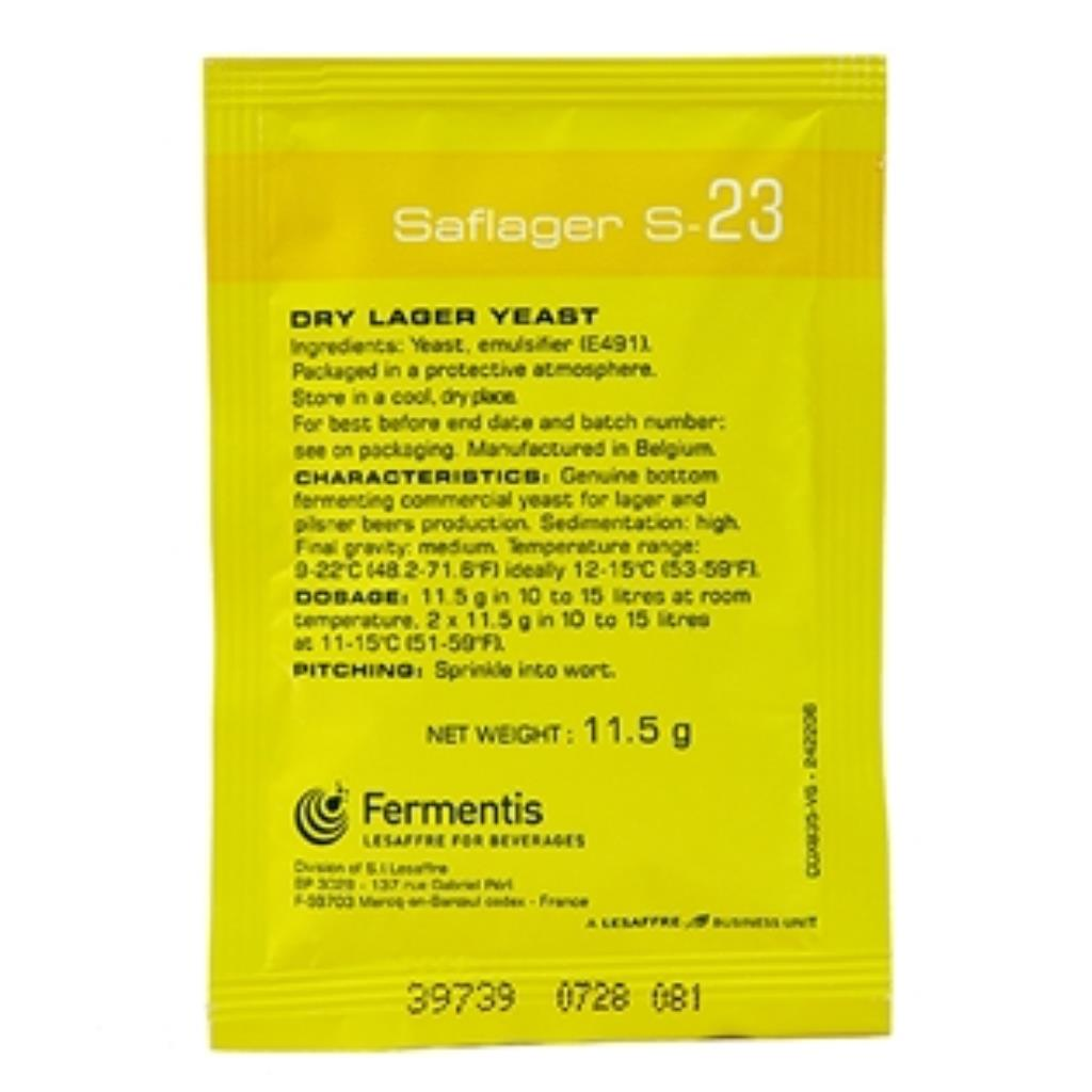 FERMENTO SAFLAGER S23  11.5G
