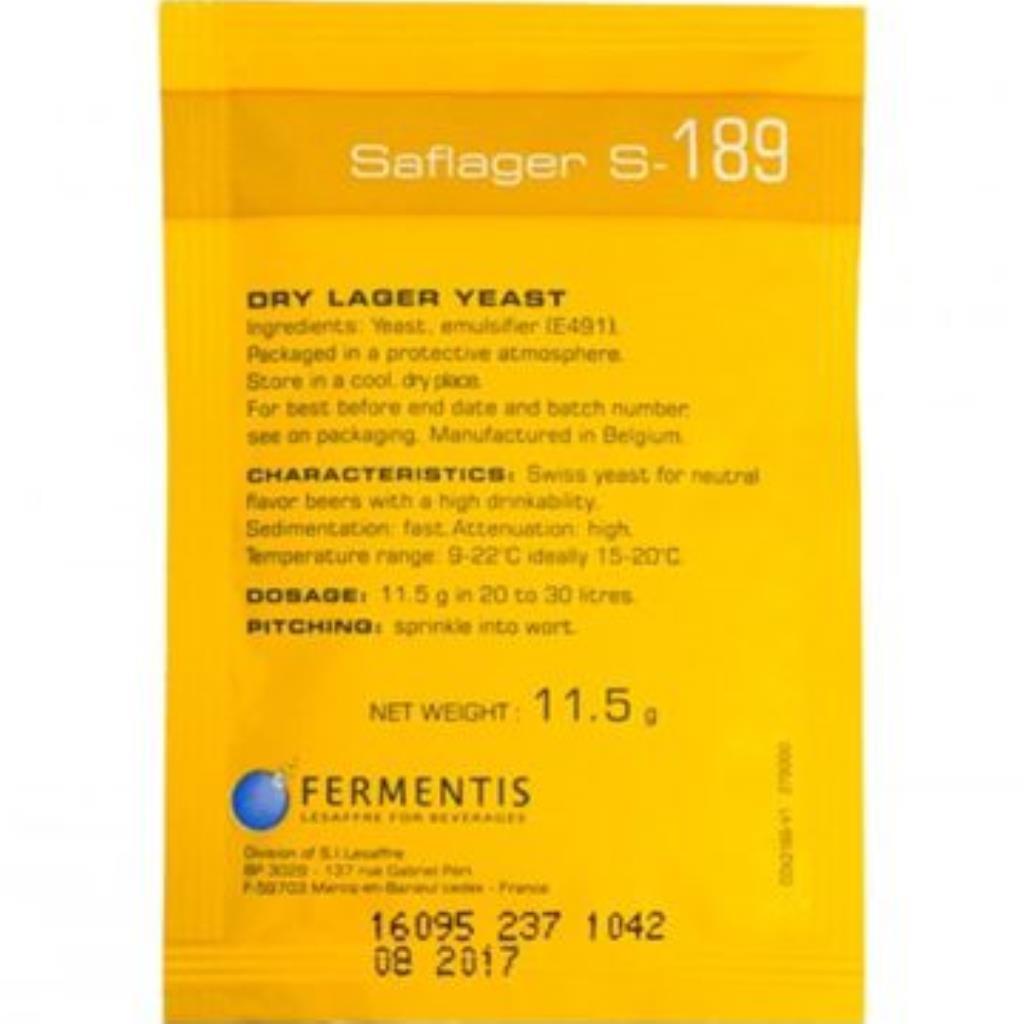 FERMENTO SAFLAGER S189 11.5G