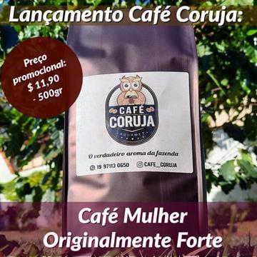 2un CAFÉ CORUJA MULHER 500g