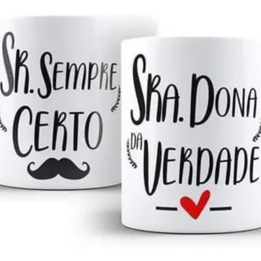 Caneca Café Coruja SR. SRA.