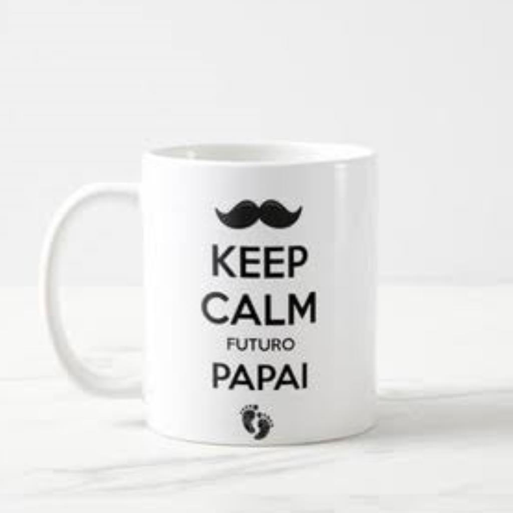 Caneca Keep Calm Futuro Papai