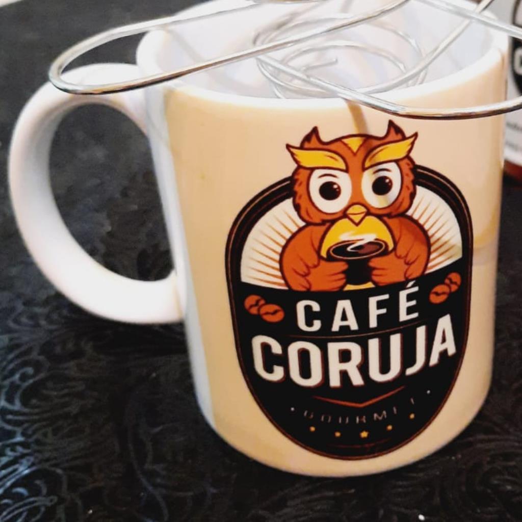 Caneca Café Coruja