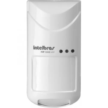 Sensor de Alarme Intelbras IVP 3000 mw Microondas Pet Infravermelho