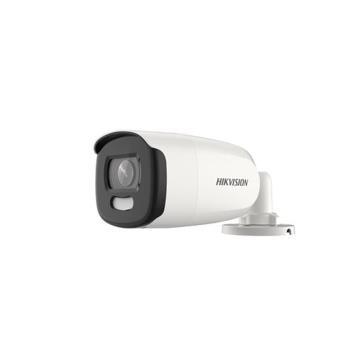 Camera Bullet Hikvision Turbo HD ColorVU DS-2CE12DFT-FC Lente 3.6mm 40 Metros