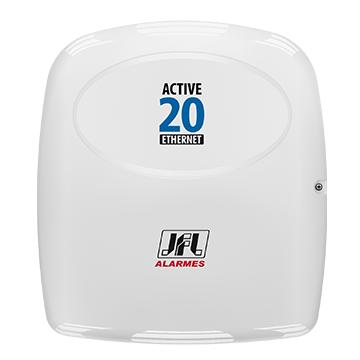 Central de Alarme JFL Active 20 Ethernet Teclado LCD Monitorável