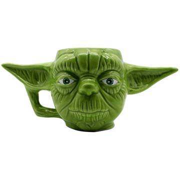 Caneca Formato 3D - Yoda