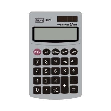 Calculadora de Bolso 8 Dígitos Grande TC03