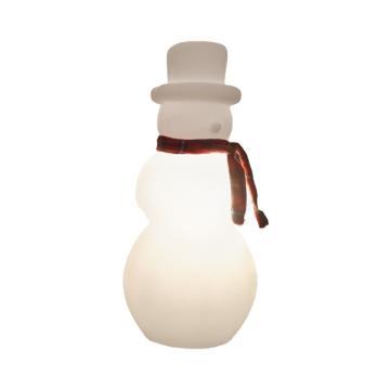 Luminária Boneco de Neve com LED RGB
