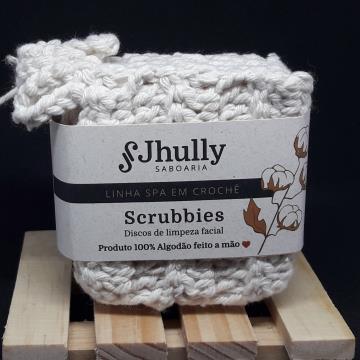 Kit Scrubbies Quadrado com 6 unidades