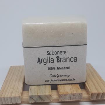 Sabonete Argila Branca