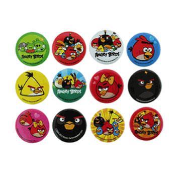 Kit Angry Birds 3 bottons 3 tamanhos