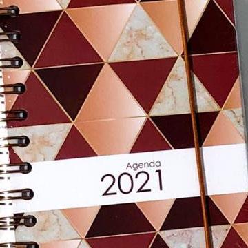 Agenda 2021 Amigold 112x150 168folhas 60g