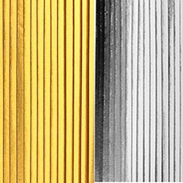 Franja plissada para decoracao de Bolo (Dourada ou Prata)