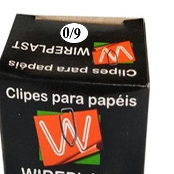 Clips para papel 6/0 Dimpacto 500g 212un