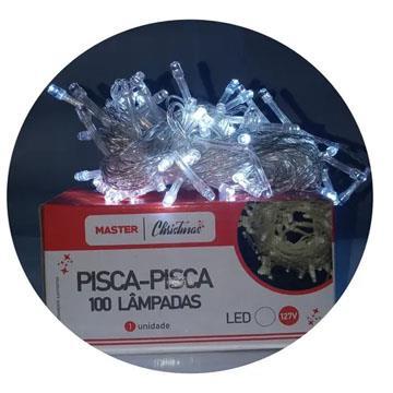 Pisca Pisca Led 100 lâmpadas 127v 9m Yaha