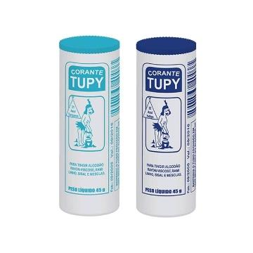 Corante de tecido Tupy 45g 1un (Marrom, Salmão, Verde, Roxo, Verde Claro e Vermelho)
