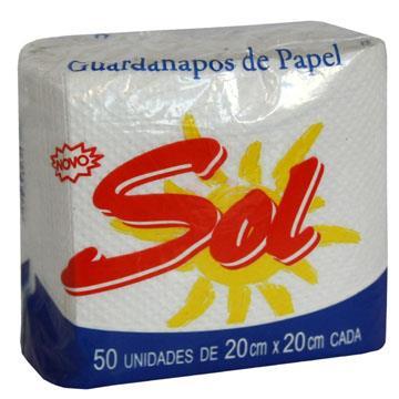 GUARDANAPO SOL 50 UN 20X20