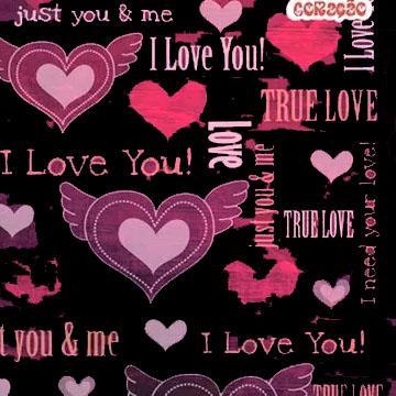 Caderno Universitário Jandaia I Love You 10 matérias 200x275mm 200 Folhas