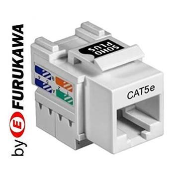 Conector Keystone Fêmea Cat5e Rj45 Soho Furukawa Plus