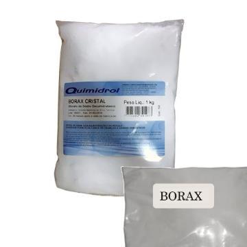 Borax Cristal porção para Slime (Borato de Sódio Decahidratado)