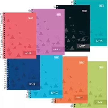 Caderno Universitário Tilibra Lunix 10 matérias 177x240
