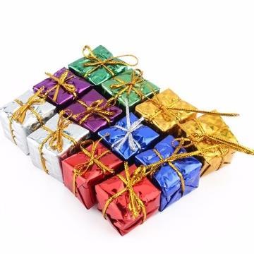 Enfeite Caixa para Árvore de Natal