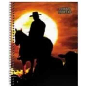 Caderno Universitário Tamoio Cowboy Country 10 matérias 200 folhas 200x275mm