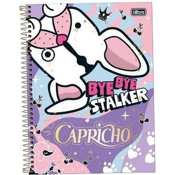 Agenda Caderneta Tilibra Capricho By Bye Stalker 110x154 80 folhas