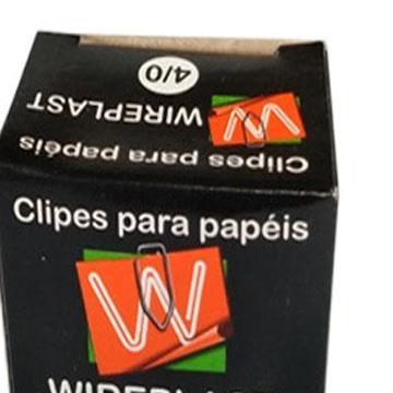 Clips para papel 4/0 Dimpacto 500g 367un