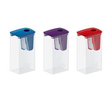 Apontador Escolar CIS 310 plástico com depósito