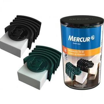 Borracha Mercur TR18 com capa plástica