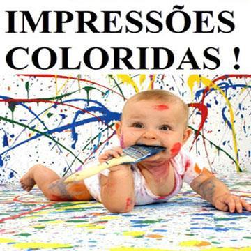 Impressões Coloridas