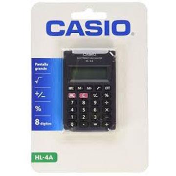 Calculadora de Bolso Casio HL-4A 5,5x8,5