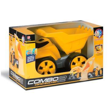 Caminhão de Brinquedo Cardoso Combo 2 Construction