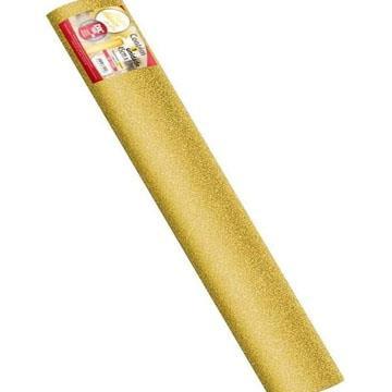 Papel Contact Adesivo DAC Glitter Dourado PP 45cm 0,10mm (por metro)