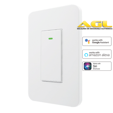 Interruptor inteligente WiFi 1 Tecla