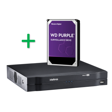 MHDX 1108 Gravador digital de 8 canais 720p com HD 2TB