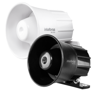 SIR 1000 Sirene com fio 9 a 15 VDC/105 dB
