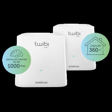 Twibi Giga Roteador wireless Mesh - Combo 2 Unidades