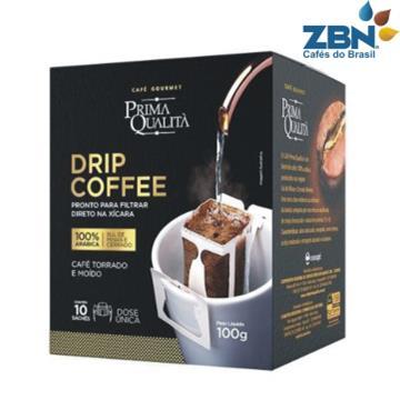 CAFE TORRADO E MOIDO GOURMET PRIMA QUALITA EM SACHE DOSE UNICA 10g - DRIP COFFEE