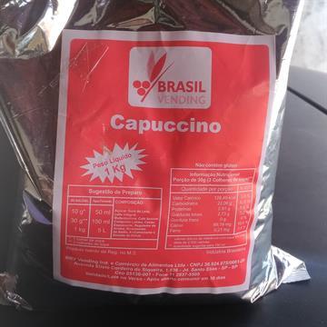 CAPPUCCINO COM CANELA - BRASIL VENDING - 1KG