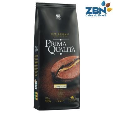 CAFÉ TORRADO EM GRÃO GOURMET PRIMA QUALITA 0,5 KG