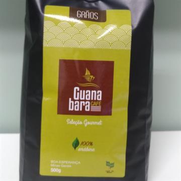 CAFÉ TORRADO EM GRÃO GOURMET GUANABARA - 0,5 KG
