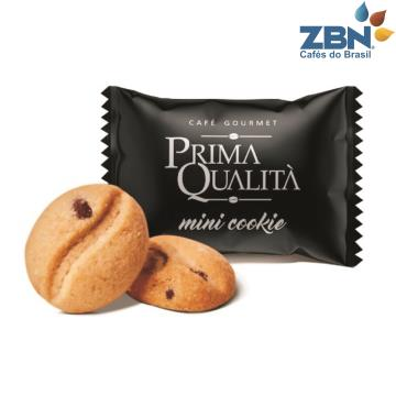 MINI COOKIE PRIMA QUALITA SABOR BAUNILHA C/GOTAS CHOCOLATE 700G - APROX.200UN