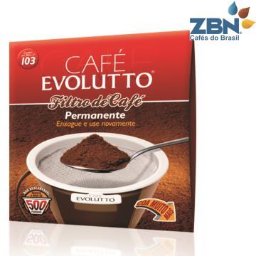 FILTRO PERMANENTE PARA CAFE EVOLUTTO Nº103 / ATÉ 500 PASSADAS
