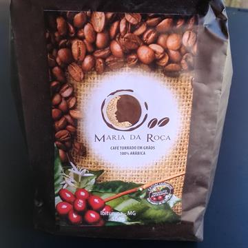 CAFÉ TORRADO EM GRÃO 100% ARABICA MARIA DA ROÇA 500g